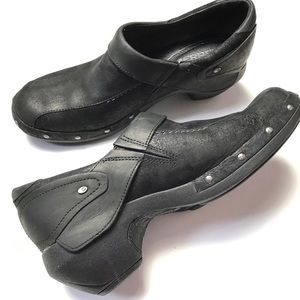 Merrell Leather Clogs Slip On Shoes